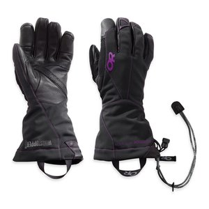 Outdoor Research OR Women's Luminary Sensor Gloves black/ultraviolet
