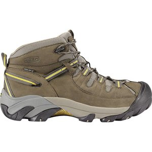 Keen Men's Targhee II Mid Black Olive / Yellow