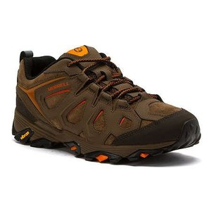 Merrell MEN'S MOAB FST LEATHER DARK EARTH