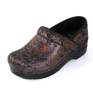 Dansko Women's Professional Pewter Iridescent