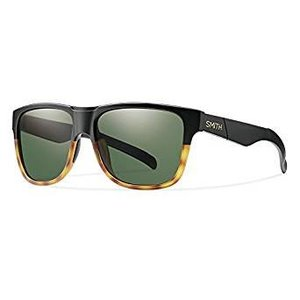 SMITH Lowdown XL Matte Black Fade Tortoise/Gray Green