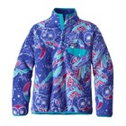 Patagonia W's LW Synch Snap-T P/O Moon Owl: Harvest Moon Blue