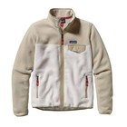 Patagonia W's Full-Zip Snap-T Jkt Birch White w/Bleached Stone