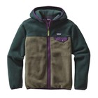 Patagonia Boys' LW Synch Snap-T Hoody Industrial Green