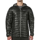 Mountain Hardwear Ghost Whisperer Hooded Down Jacket Shark, Titanium
