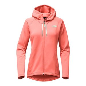 The North Face W MOMENTUM HOODIE Burnt Coral