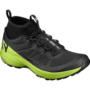 Salomon XA Enduro Mens Black/Lime Green/Black