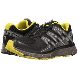 Salomon X-Mission 3 Mens Black/Magnet/Sulphur Spring