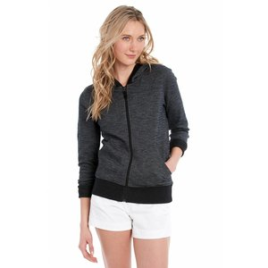 Lole INDIA HOODED CARDIGAN BLACK