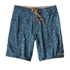 Patagonia M's Stretch Planing Board Shorts - 20 in. Ikat Fish Small: Bay Blue