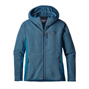 Patagonia Womens Performance Better Sweater Hoody Big Sur Blue