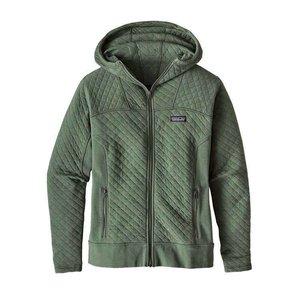 Patagonia W's Cotton Quilt Hoody Hemlock Green