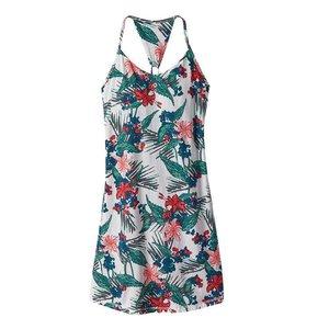 Patagonia W's Edisto Dress Kelp Garden: Birch White
