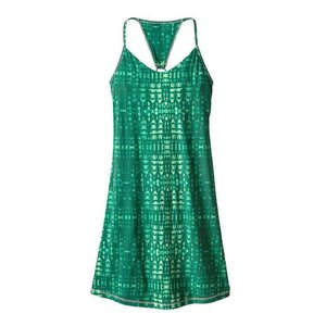 Patagonia W's Edisto Dress Tidewater: Gem Green