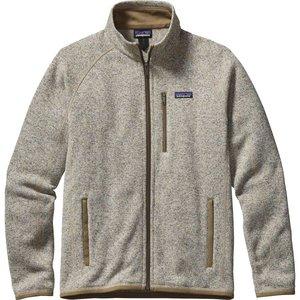 Patagonia M's Better Sweater Jkt Bleached Stone