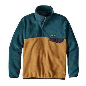 Patagonia M's LW Synch Snap-T P/O Oaks Brown