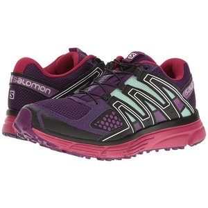 Salomon X-Mission 3 Womens Acai/Sangria/Fair Aqua