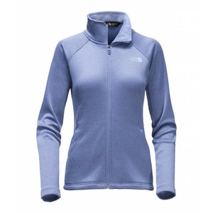 The North Face W AGAVE FULL ZIP Coastal Fjord Blue Heather