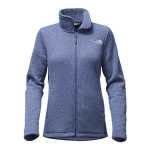 The North Face W CRESCENT FULL ZIP Coastal Fjord Blue Heather