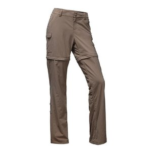 The North Face W PARAMOUNT 2.0 CONVERTIBLE PANT Falcon Brown