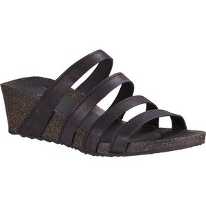 TEVA W YSIDRO SLIDE WEDGE BLACK