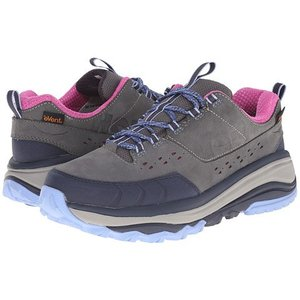 HOKA W TOR SUMMIT WP STEEL GREY / HYDRANGEA