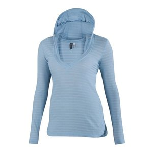 Ibex Shadow Stripe Hoody Crystal Falls