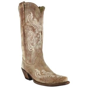 Corral R1974 Boot Womens Brown Cortez Cleff Embriodery