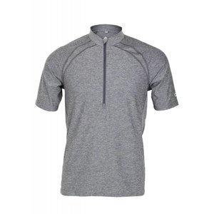 Club Ride Roadeo Men's Short Sleeve Zip Neck Top Shadow
