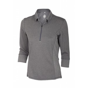 Club Ride Hermosa 3/4 Women's Pullover 3/4 length Sleeve Top Graphite