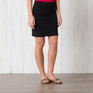 "Toad & Co TRANSITA SKIRT 17.5"" BLACK"