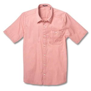 Toad & Co PANORAMA CHAMBRAY SS SHIR RED CLAY