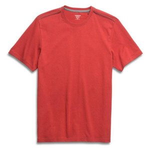 Toad & Co PETER SS TEE RED CLAY