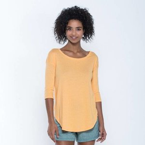 Toad & Co PAPYRUS FLOWY 3/4 TEE MANGO