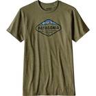 Patagonia M's Fitz Roy Crest Cotton/Poly T-Shirt Gorge Green