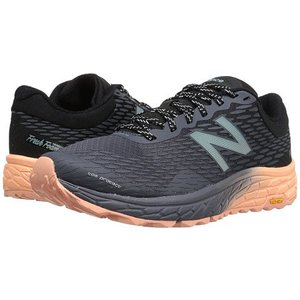 New Balance Womens Fresh Foam Hierro v2 Outerspace/Black/Bleached Sunrise