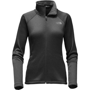 The North Face W AGAVE FULL ZIP TNF Black Heather