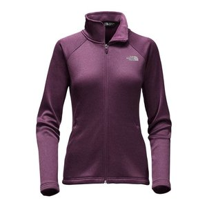 The North Face W AGAVE FULL ZIP Blackberry Wine Heather
