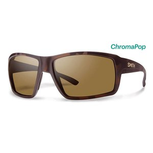 Smith Optics Smith Optics Colson Sunglass: Matte Tortoise/ChromaPop Polarized Brown Lens