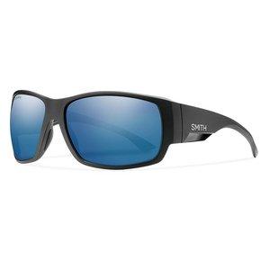 Smith Optics Smith Optics Dockside Sunglass: Matte Black/ChromaPop Polarized Blue Mirror Lens