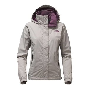 The North Face W RESOLVE 2 JACKET Metallic Silver