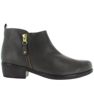 Eric Michael London Dark Grey Zip Bootie