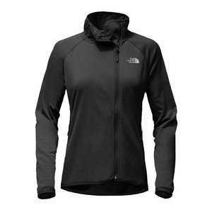 The North Face W ARCATA FULL ZIP TNF Black Heather