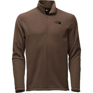 The North Face M TECH GLACR 1/4 ZIP Coffee Bean Brown
