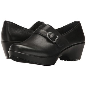 Dansko Jane Burnished Nappa Black