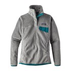 Patagonia W's Re-Tool Snap-T P/O Tailored Grey - Nickel X-Dye w/Elwha Blue