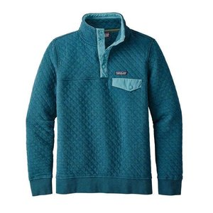 Patagonia W's Cotton Quilt Snap-T P/O Elwha Blue