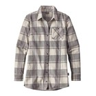 Patagonia W's Aspen Forest Tunic Wind Weaver Plaid: Tailored Grey