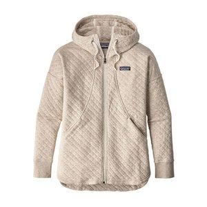 Patagonia W's Cotton Quilt Hoody Birch White