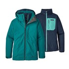 Patagonia W's 3-in-1 Snowbelle Jkt Elwha Blue